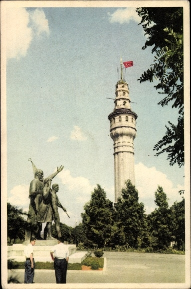 Ak Konstantinopel Istanbul Türkei, Fire Tower of Beyazit, Monument