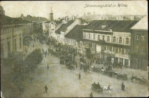 Ak Vilnius Wilna Litauen, Stimmungsbild