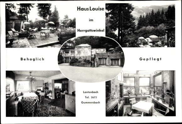 Ak Lantenbach Gummersbach im Oberbergischen Kreis, Haus Louise