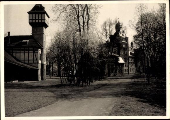 Foto Ak Wesseling in Nordrhein Westfalen, Ortspartie