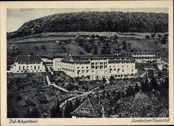 Ak Bad Mergentheim in Tauberfranken, Sanatorium Taubertal