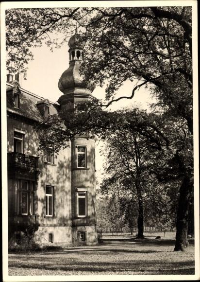 Foto Ak Wesseling in Nordrhein Westfalen, Teilansicht
