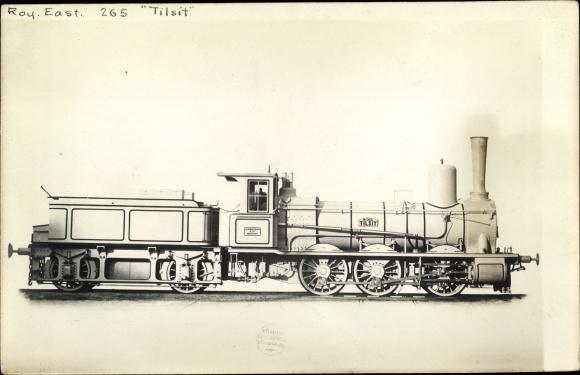 Foto Ak Deutsche Eisenbahn, Dampflokomotive, 72/1868