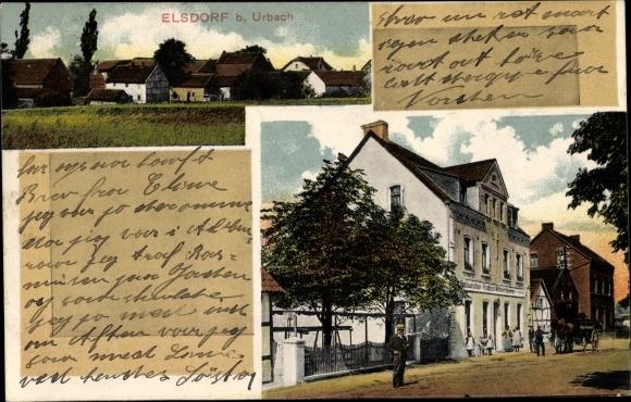 Ak Elsdorf Köln, Ortschaft, Restauration Friedrich Wilhelm Demmer