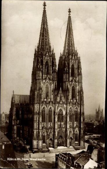 10 alte Ak Köln am Rhein, diverse Ansichten