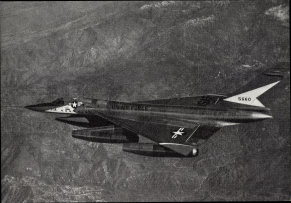 Ak US Air Force Überschall Bomber Convair B 58 Hustler, 5660
