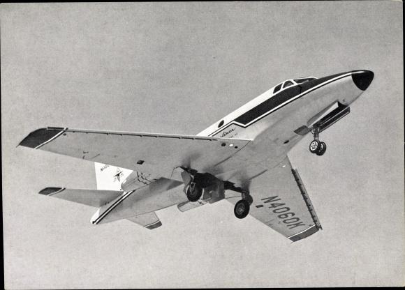 Ak Mehrzweck Trainer North American NA 246 T 39 Sabreliner, USA, N4060K