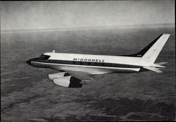 Ak Amerikanisches Geschäftsreiseflugzeug McDonnell M 119