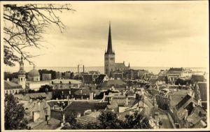 Ak Tallinn Reval Estland, Blick vom Dom, Kirchturm