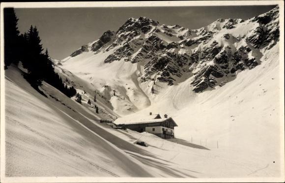 Ak Kitzbühel in Tirol, Niederkaseralpe Gamshag, Winterpartie