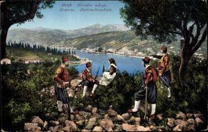 Ak Gruž Dubrovnik Kroatien, Nationaltrachten