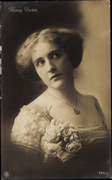 Ak Schauspielerin Henny Porten, Portrait, NPG 794 2