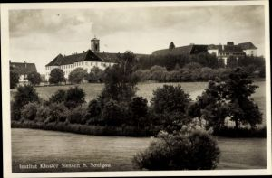 Ak Sießen Bad Saulgau in Oberschwaben, Institut Kloster