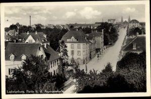 Ak Ludwigsburg in Baden Württemberg, Partie bei der Asperger Straße