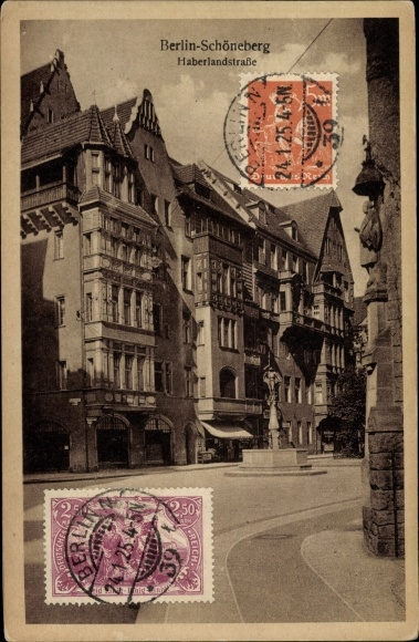 Ak Berlin Schöneberg, Haberlandstraße