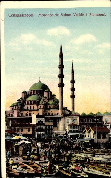 Ak Konstantinopel Istanbul Türkei, Mosquée de Sultan Validé à Stamboul