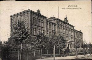Ak Dortmund im Ruhrgebiet, Staatliche Maschinenbauschule