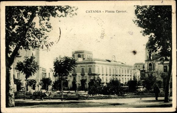 Ak Catania Sicilia, Piazza Cavour