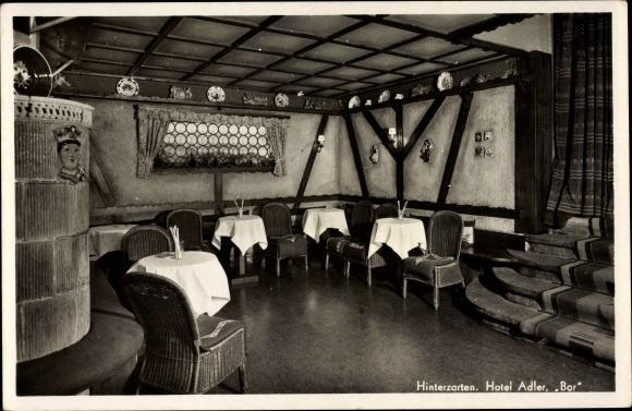 Ak Hinterzarten im Südschwarzwald, Hotel Adler, Bar
