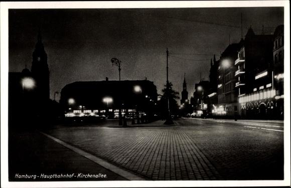 Hamburg, Hauptbahnhof, Kirchenallee