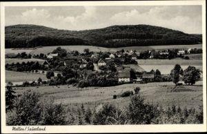 Ak Mellen Balve im Sauerland, Panorama vom Ort