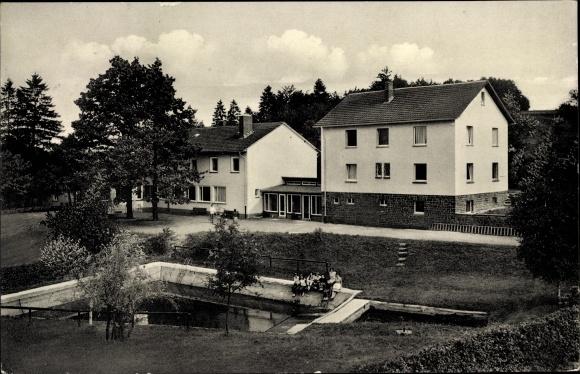 Ak Gelslingen Drolshagen im Sauerland, Schullandheim
