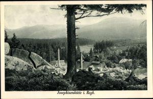 Ak Szklarska Poręba Schreiberhau Riesengebirge Schlesien, Kunstglasfabrik Josephinenhütte