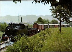 Ak Deutsche Eisenbahn, Dampflokomotive, Strecke Reutlingen-Gönningen, Lok Nr 16