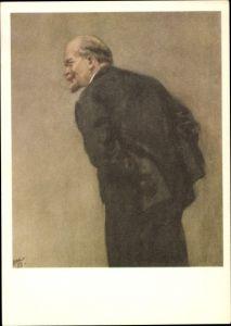 Künstler Ak Zhukov, N.N., W.I. Lenin, Vystupleniye