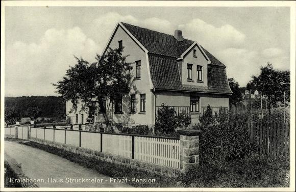 Ak Krainhagen Obernkirchen in Niedersachsen, Haus Struckmeier, Privatpension