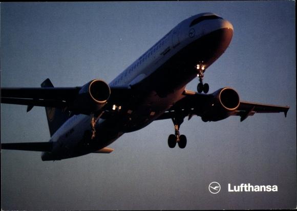 Ak Lufthansa Airbus A320 200, Passagierflugzeug