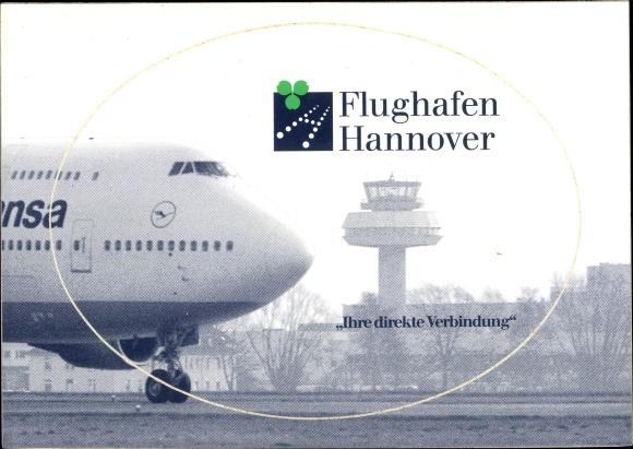 Ak Flughafen Hannover, Ihre direkte Verbindung, Lufthansa