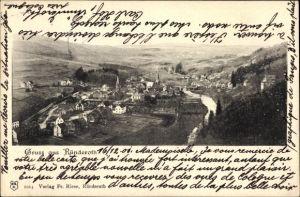 Ak Ründeroth Engelskirchen im Oberbergischen Kreis, Totalansicht vom Ort