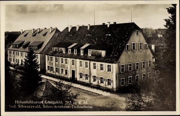 Ak Königsfeld im Schwarzwald, Schwesternhaus, Töchterheim