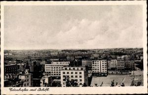 Ak Gdynia Gotenhafen Pommern, Oxhöft, Totalansicht von der Stadt