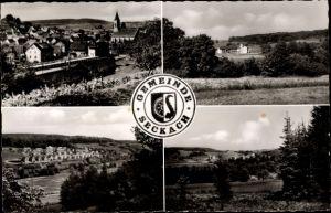 Ak Adelsheim im Neckar Odenwald Kreis, verschiedene Ansichten