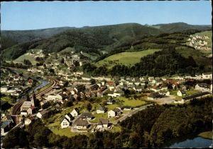 Ak Engelskirchen im Oberbergischen Kreis, Teilansicht vom Ort, Agger