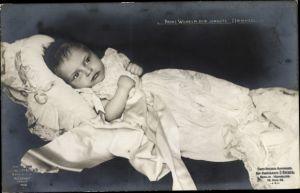 Ak Prinz Wilhelm der Jüngste Hohenzoller
