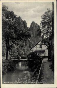 Ak Bad Münster am Stein Ebernburg Bad Kreuznach Rheinland Pfalz, Rheingrafenstein