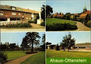 Ak Ottenstein Ahaus in Nordrhein Westfalen, Dorfpartie, Kaufladen