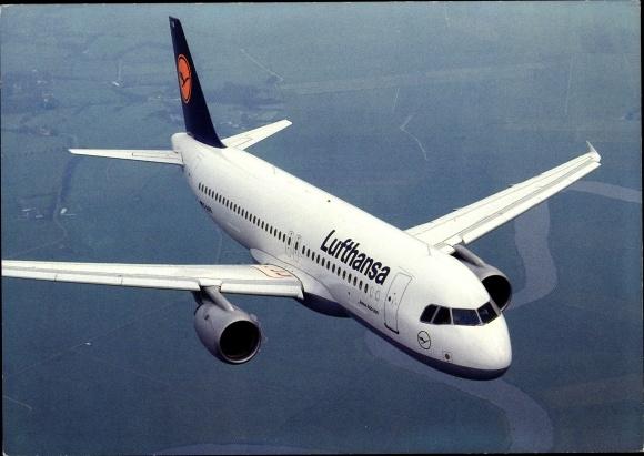 Ak Airbus A 320-200, Lufthansa, Passagierflugzeug