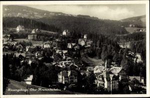 Ak Karpacz Krummhübel Riesengebirge Schlesien, Totalansicht