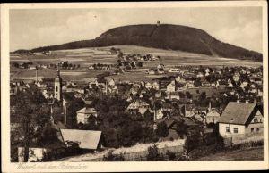 Ak Vejprty Weipert Region Aussig, Bärenstein, Stadtpanorama