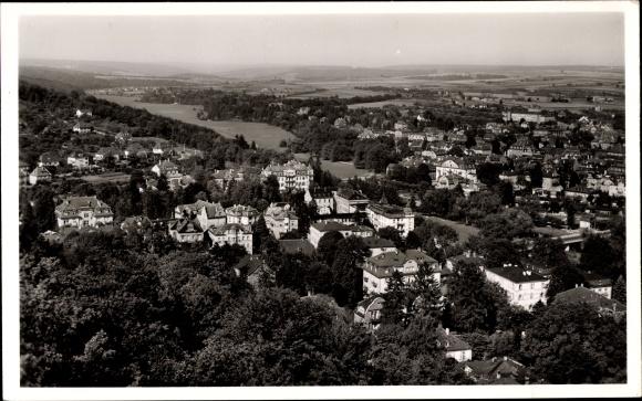 Ak Bad Kissingen Unterfranken Bayern, Ortsansicht
