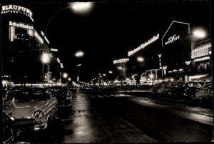 Ak Berlin Charlottenburg, Kurfürstendamm bei Nacht, Haus Wien