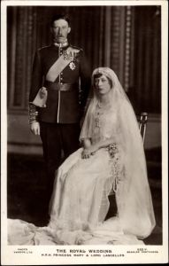 Ak Royal Wedding, Princess Mary, Lord Lascelles