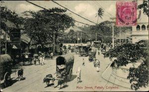 Ak Colombo Ceylon Sri Lanka, Pettah, Main Street