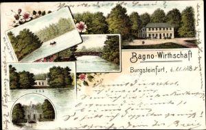 Litho Burgsteinfurt Steinfurt in Nordrhein Westfalen, Bagno Wirtschaft