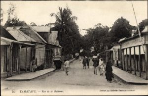 Ak Tamatave Toamasina Madagaskar, Rue de la Batterie