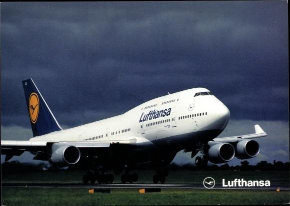 Ak Boeing 747-400, Lufthansa, Passagierflugzeug